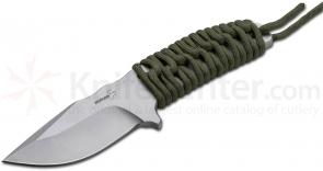 Boker Plus Prime Fixed 3-3/4 inch Blade, Paracord Wrapped Handle (02BO380)