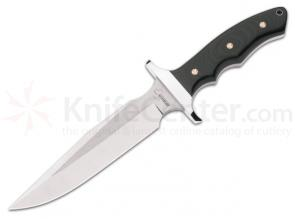 Boker Plus Valkyrie Combat Knife 7-1/4 inch Fixed Blade, Micarta Handles