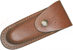 Boker Genuine Leather Sheath for Folding Knives Up to 4-3/4 inch Closed (090032)