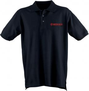 Boker Polo Shirt, Black, XXL (09BO164)