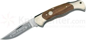 Boker Lockback Hunter Folding Knife 3-1/8 inch Blade, Rosewood Handles