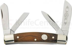 Boker Carver's Congress Whittler with Rosewood Handles 3-3/4 inch Closed