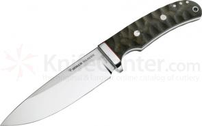 Boker Savannah Fixed Hunting Knife 5 inch N690BO Blade with Micarta Handles