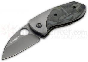 Magnum by Boker Field Mouse Folding Knife 2-1/4 inch Blade, Camo Handle Scales