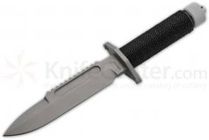 Boker Plus Apparo Combat Survival Knife Fixed 7 inch Blade, Cord Wrapped Hollow Handle