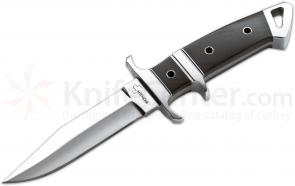 Boker Plus Kressler Subhilt Fighter II Fixed 4-3/4 inch Blade, Micarta Handles