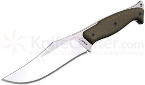 Boker Plus Kutzki Shark Fixed 4-5/8 inch Blade, Green Canvas Micarta Handles