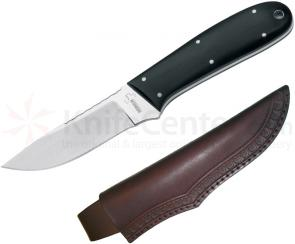 Boker Plus Dozier Anchorage Pro Skinner 3-1/2 inch Blade with Black G10 Handles