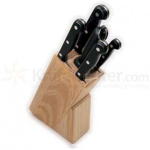 Boker Arbolito Kitchen Cutlery 6 Piece Kitchen Knife Block Set