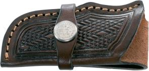 Boker Genuine Leather Sheath for Trappers or Stockmans (090035)