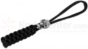 Boker Plus Lanyard, Black with Metal Skull Bead (09BO773)