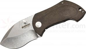 Boker Blackwood Pipsqueak Folding Knife 2-5/8 inch S35VN Blade, Micarta Handles (110623)