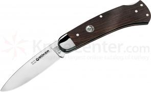 Boker Fellow Anniversary Folding Knife 3-1/4 inch Blade, Grenadill Handles (111010)