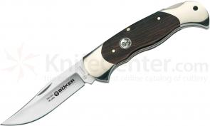 Boker Scout Anniversary Folding Knife 3-1/8 inch Blade, Grenadill Handles (112022)