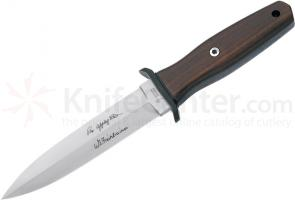 Boker Applegate-Fairbairn Premium Boot Dagger 4-7/8 inch Blade with Wood Handles