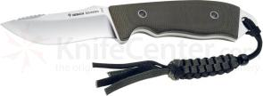 Boker Solid Forest Hunting Knife 3-1/4 inch Fixed Blade, Micarta Handles