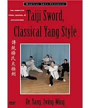 Taiji Sword Video DVD: Classical Yang Style, in English and French