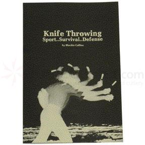 Knife Throwing Book by Blackie Collins 31 Pages