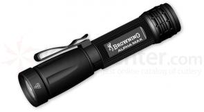 Browning Tactical Hunter Alpha 4 inch LED Flashlight, Rubber Grip