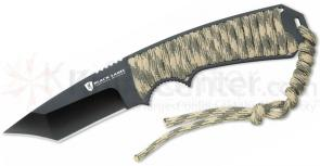 Browning Black Label First Priority Fixed 2-7/8 inch 440 Stainless Steel Blade, Camo Paracord Handle