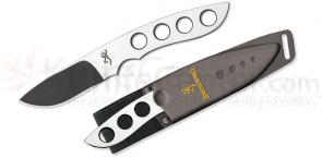 Browning Extreme Mountain Hunter Fixed 31/4 inch Blade, Stainless Steel Handles, Sheath Included