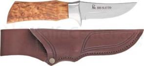 Brusletto Falken Fixed Blade 7-5/8 inch Overall w/Curly Birch Handle