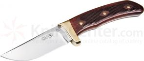 Buck Knives Gen-5 Skinner 3 inch 154CM Steel Fixed Blade Knife Rosewood Handle Leather Sheath