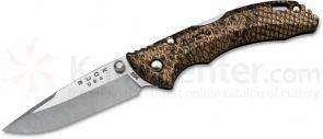 Buck 284 Bantam BBW Folding Knife 2-3/4 inch Blade, Copperhead Nylon Handles