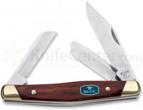 Buck 301 Stockman Rosewood Dymondwood Handle 3-7/8 inch Closed