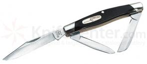 Buck Cadet 3.25 inch Closed 3 Blade Everyday Pocket Stockman Knife
