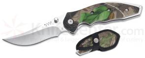 Buck Folding Kalinga Pro Classic Hunting Knife Camo Handle & Sheath
