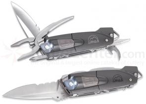Buck X-Tract Platinum Body LED Light Multi-Tool 3 inch Blade Nylon Sheath