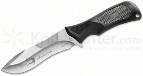 Buck Haley Heath ErgoHunter Adrenaline (Select) Skinner Fixed 4-1/2 inch Blade, Gray Handles, Nylon Sheath