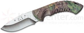 Buck 392 Omni Hunter 12PT Fixed 4 inch Blade, RealTree Xtra Green Camo Handles