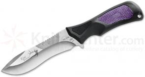 Buck 085 Family Traditions Adrenaline Fixed 4-1/2 inch 420HC Blade, Purple Zytel Handles