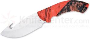 Buck Omni Hunter 12PT Fixed 4 inch Sandvik Blade, Guthook, Mossy Oak Handle