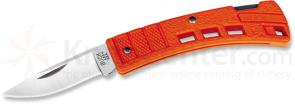 Buck MiniBuck 1-7/8 inch Plain Blade, Orange Handles