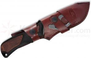 Buck Burgundy Leather Combo Sheath for 498 ErgoHunter