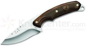 Buck 694 Legacy Boone & Crockett Alpha Hunter Fixed 3-3/4 inch Blade, Heritage Walnut Handles