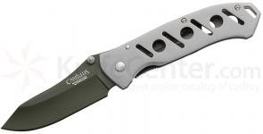 Camillus 8 inch Carbonitride Titanium Wide Blade Folding Knife with Aluminum Handles