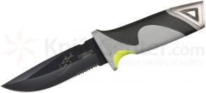 Camillus 19093 Les Stroud Ultimate Survival Knife Mountain Fixed Drop Point Combo Blade with Sheath