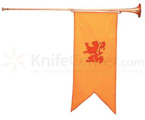 Herald's Trumpet 50 inch Long (Shown with Banner Item 1202K not included)