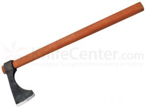 CAS Hanwei XH2043N Short Bearded Axe, Antiqued, 24-1/2 inch Overall