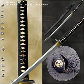CAS Hanwei SH5001 Wind and Thunder Katana Thick and Heavy 30.25 inch Blade