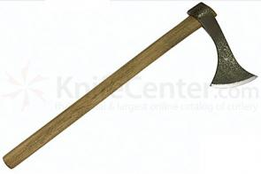 CAS Francesca Axe Antiqued Finish 18 inch Length Solid Wood Handle
