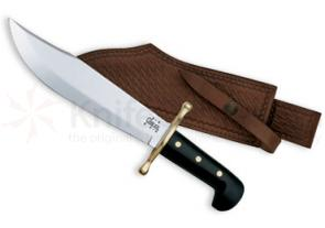 Case Bowie Black Handles 9-1/2 inch Polished Blade