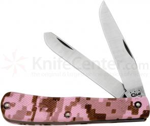Case Lightweight Pink Camo Zytel Trapper 4-1/8 inch Closed (LT254 SS)