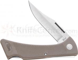 Case Tan Lightweight Zytel Mako 4-1/4 inch Closed (LT158L SS)