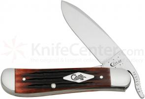 Case Second Cut Crimson Bone RussLock 4-1/4 inch Closed (61953 1/8L SS)