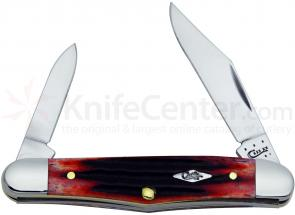 Case Second Cut Crimson Bone Half Whittler 3-1/4 inch Closed (6208 SS)